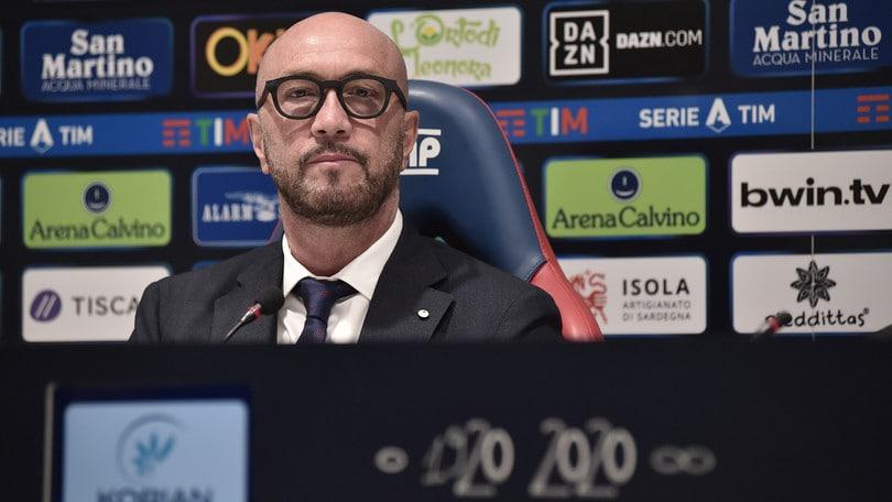 Il Cagliari non ha fretta di ripartire: Zenga attende il via ai test medici