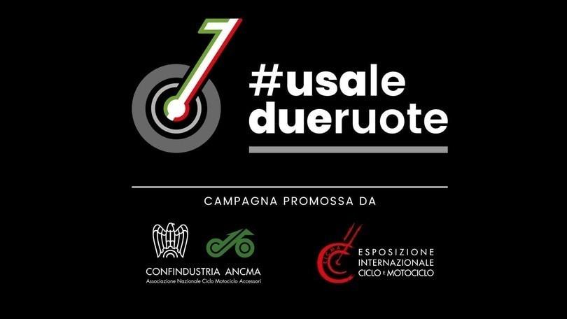 ANCMA ed EICMA danno il via alla campagna #usaledueruote
