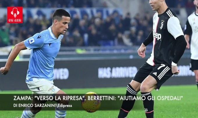 """""""Fiducia per la ripresa del campionato"""". Berrettini: """"Aiutiamo gli ospedali"""""""