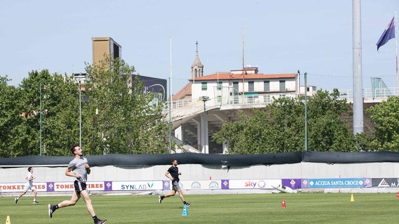 Fiorentina, al via gli allenamenti a piccoli gruppi
