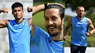 Lazio, a Formello si lavora sodo: Correa mostra i muscoli, sorrisi Luis Alberto