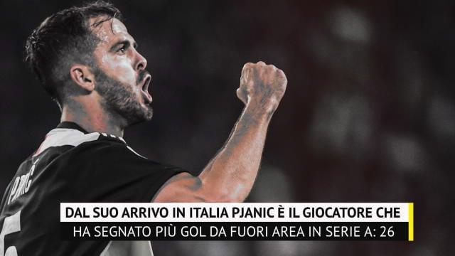 Juventus, se cedi Pjanic ecco a cosa rinunci: i dati