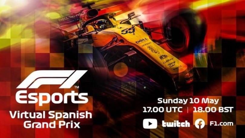 Domenica al via il F1 Virtual GP di Spagna con Aguero