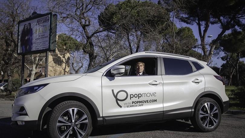 Popmove, con Covid Car Free riparte il car sharing in tutta sicurezza