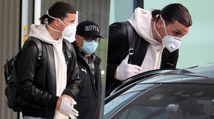 Ibrahimovic torna dal Milan: l'arrivo a Malpensa