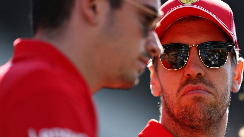 F1 Ferrari, Vettel e Leclerc al Mugello: