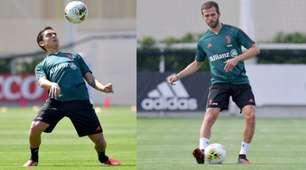 Juve, Dybala e Pjanic in campo alla Continassa