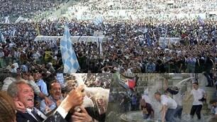 Lazio, che festa scudetto! Le immagini di quel 14 maggio del 2000