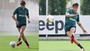 Juve, Dybala scalda il sinistro per la ripresa del campionato