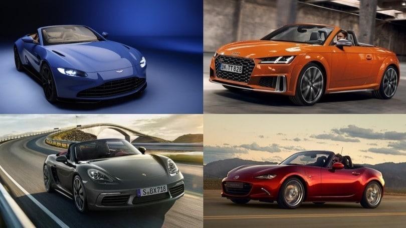 Auto cabrio, la top 10 delle vetture che ci faranno ripartire da gite e vento tra i capelli