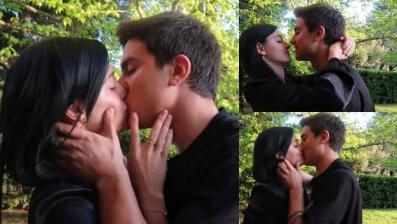 Dybala, il bacio caliente a Oriana fa impazzire il web