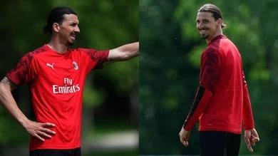 Milan, proseguono gli allenamenti: Ibrahimovic è in campo!
