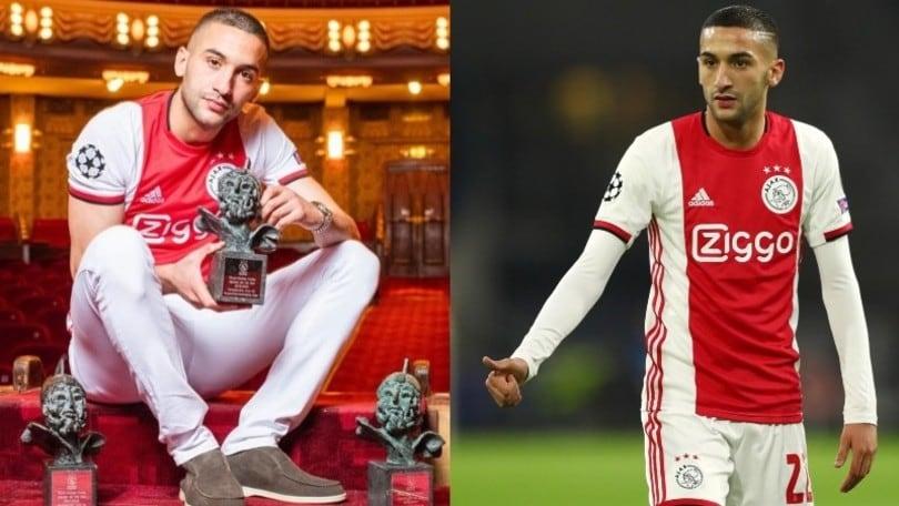Ajax, Ziyech nominato giocatore dell'anno