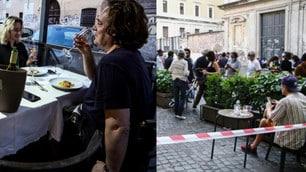 Roma, tornano aperitivi e cene a Trastevere