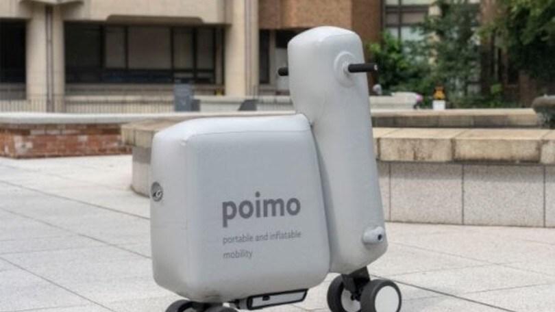 POIMO, lo scooter gonfiabile dal Giappone