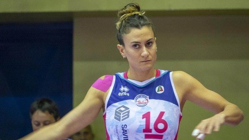 Lucia Bosetti per il quarto anno consecutivo a Scandicci