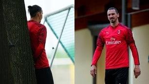 Milan, Ibrahimovic tira il gruppo e Massara osserva