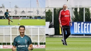 Juve, Sarri ritrova Cristiano Ronaldo: è subito show