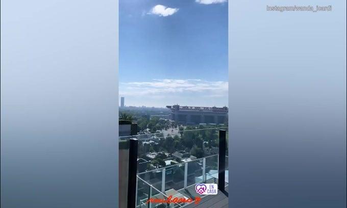 Icardi e Wanda Nara nella nuova casa di Milano: che vista!