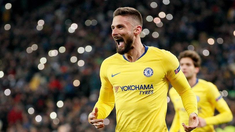 Chelsea, esercitata opzione del rinnovo di Giroud