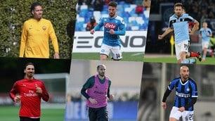Contratti in scadenza e prestiti: la situazione in Serie A