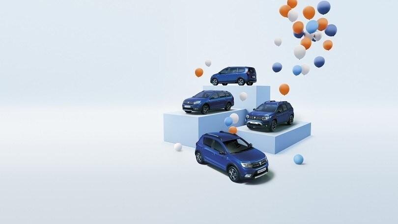 Dacia, per il 15° anniversario ecco la Serie Speciale