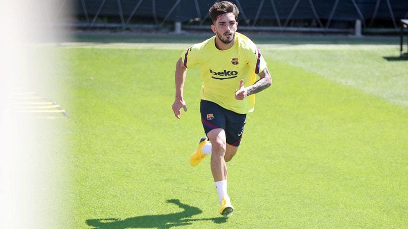 Il Sassuolo in pressing su Monchu, capitano del Barcellona B