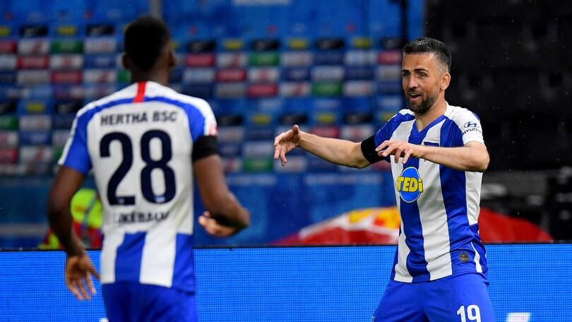Bundesliga, Hertha Berlino a valanga nel derby: 4-0 all'Union