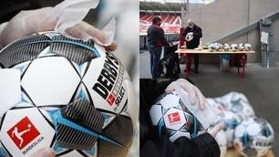 La Bundesliga ai tempi del Coronavirus: la disinfezione dei palloni