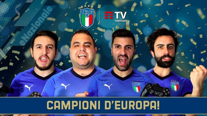 Italia campione d'Europa virtuale: decisivo il gol di Insigne!