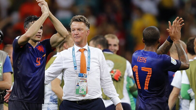 Van Persie e quel duro faccia a faccia con Van Gaal: