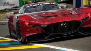 Mazda RX-Vision GT3 Concept: le immagini