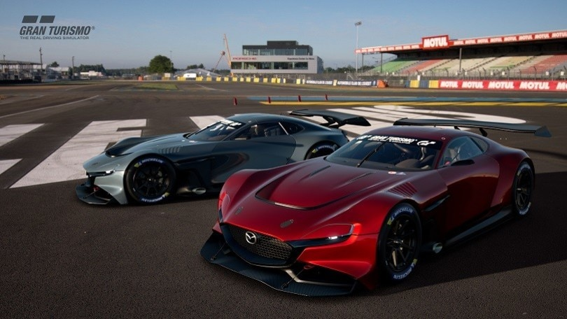 Mazda RX-Vision GT3 Concept, il rotativo sfreccia nei videogame