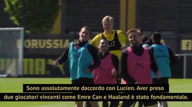 """Favre e Zorc fiduciosi: """"Il Bayern? Ora abbiamo Haaland ed Emre Can"""""""