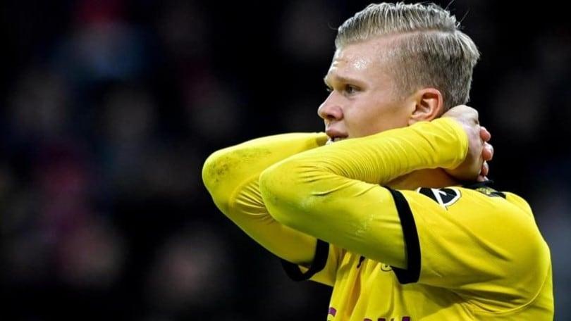 Dortmund, ko e beffa: Haaland infortunato per colpa dell'arbitro