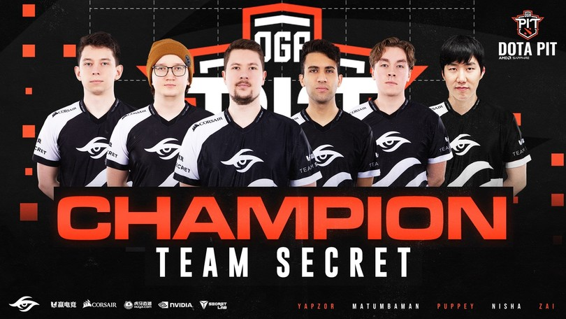 Dota 2, il Team Secret trionfa all'OGA Dota PIT 2020