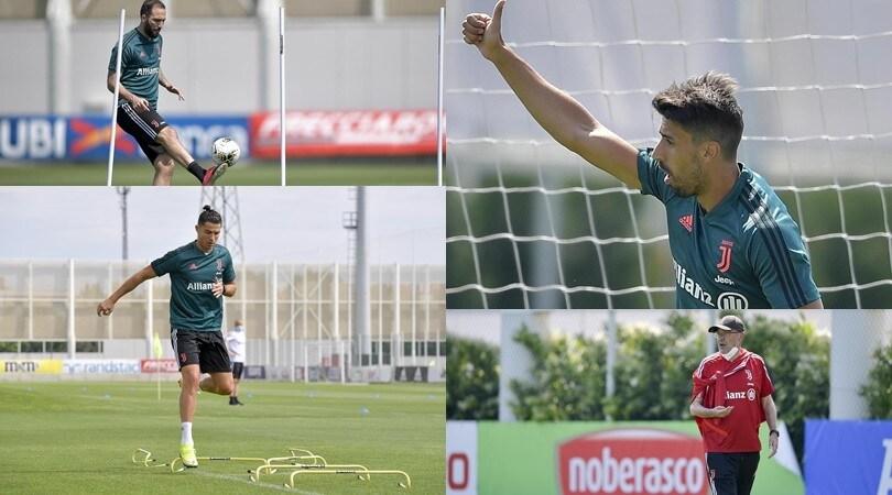 Sarri striglia la Juve. Ronaldo e Higuain sudano, Khedira carica il destro