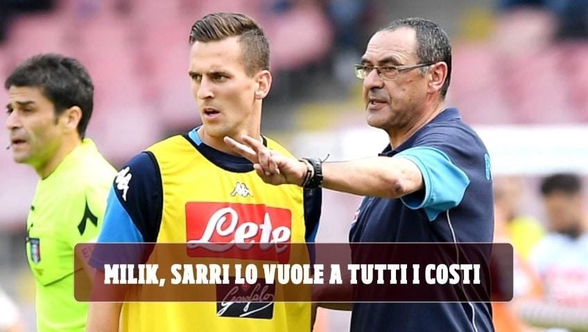 Milik, la Juve in pressing sul Napoli: Sarri lo vuole a tutti i costi