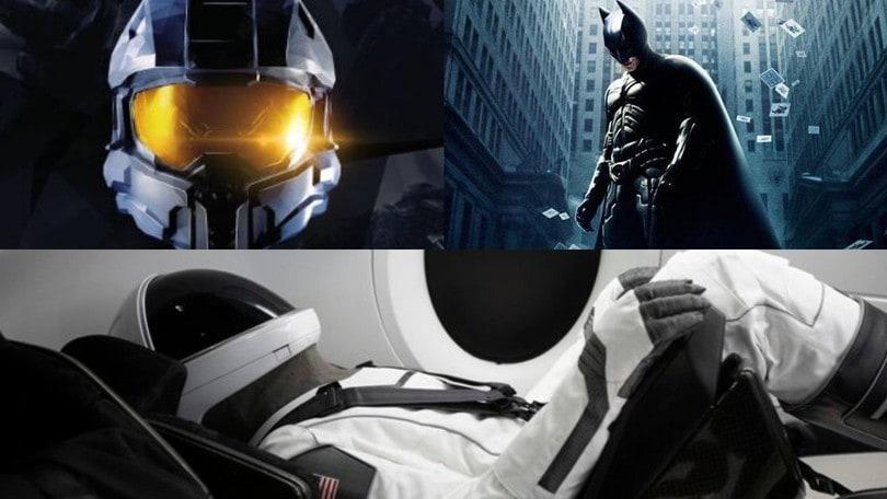 SpaceX, le tute spaziali degli astronauti come quelle di Batman e Halo