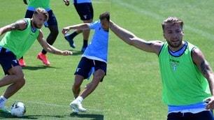 La Lazio viaggia spedita a Formello: altro gol in allenamento per Immobile