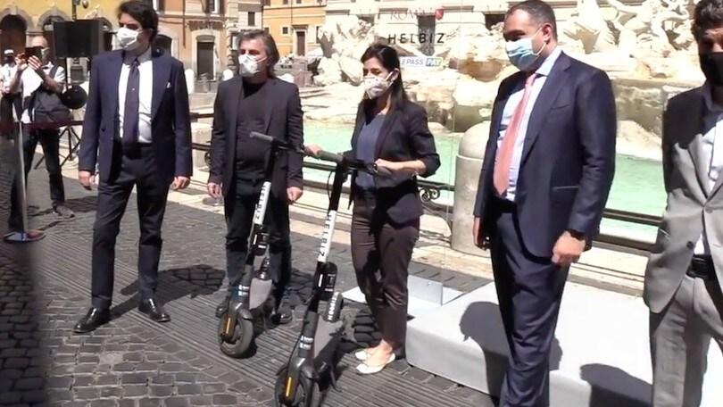 Roma, 1000 monopattini elettrici arrivano in città