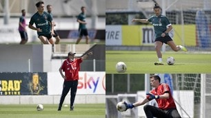 Juve, Sarri si gode Ronaldo e Dybala. Szczesny è una saracinesca!
