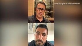 """Cannavaro: """"Gravina è una persona eccezionale"""""""