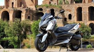 Yamaha XMax 300 'Roma Edition': le immagini della prova