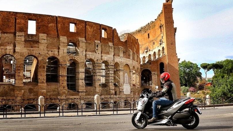 Yamaha XMax 300 'Roma Edition': la prova