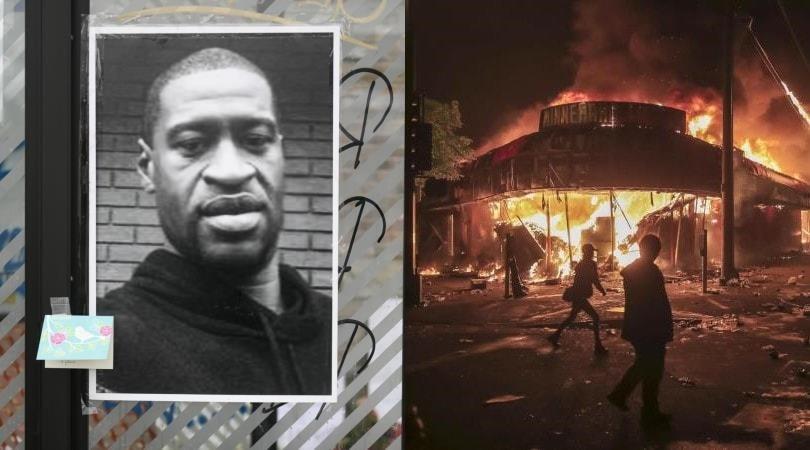 Morte di George Floyd, a Minneapolis devastazioni e incendi