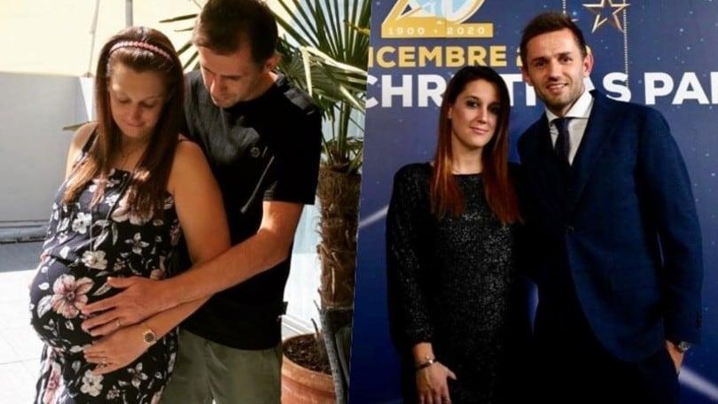 Lazio, Lulic ancora papà: la moglie Sandra è in dolce attesa
