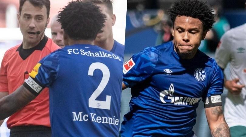 George Floyd in campo con lo Schalke: dedica sulla fascia di McKennie