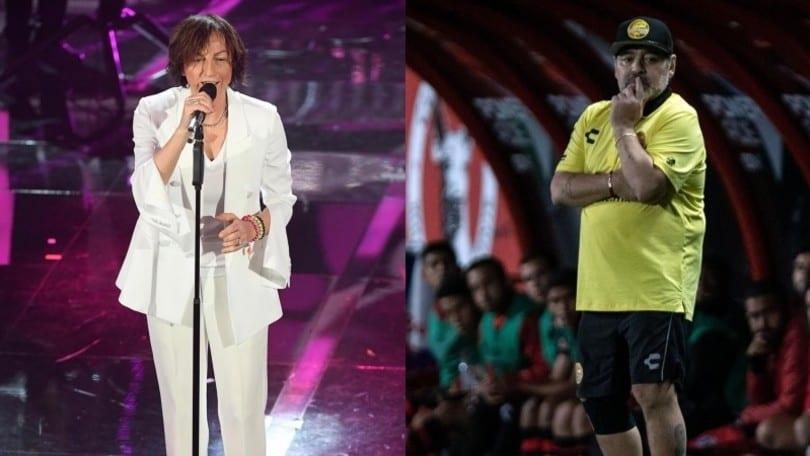 """Nannini: """"Maradona chiamò sua figlia Giannina perché era un mio fan"""""""