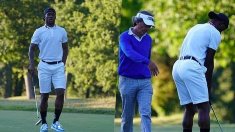 Lazio, Bastos e la passione per il golf: stile a volontà e i compagni se la ridono